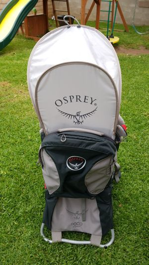 Osprey Poco Premium Child Carrier Backpack hiking for Sale in Santa Ana, CA
