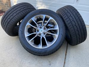 """20"""" Dodge Durango RT sport supercharged 5 lug grey wheels NEW tires Jeep Cherokee rims oem factory Mopar for Sale in Stallings, NC"""