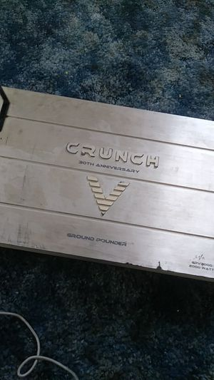 Crunch Amp 2000 watts. Came from previous car for Sale in Dinuba, CA