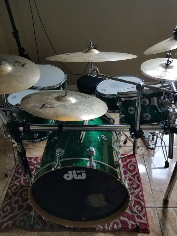 Dw drums collecters set