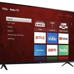 TCL 55 inch 4K UHD Roku Smart TV . for Sale in Centreville, VA