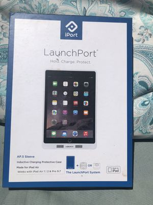 """iPort LaunchPort AP.5 Sleeve for iPad Air 1 2 iPad Pro 9.7"""" and 5th Gen - White - BRAND NEW! for Sale in Torrance, CA"""
