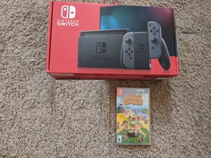 New Nintendo Switch with Animal Crossing for Sale in Laurel, MD