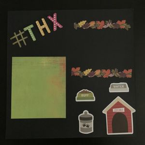 Scrapbook for dogs - Thanksgiving page! for Sale in Hayward, CA