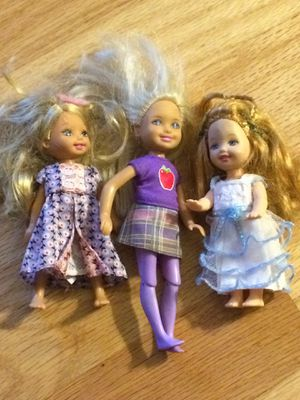 Toy barbie little baby sister kelly (?) doll figures for Sale in Walkersville, MD