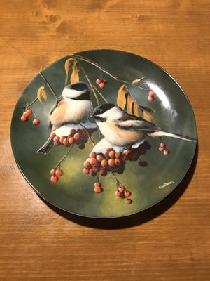"1986 Limited Edition of ""The Chickadee"" Plate! for Sale in Traverse City, MI"