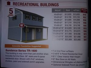 Special Financing on TuffShed storage buildings for Sale in Red Rock, TX