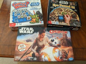Star wars board games for Sale in Surprise, AZ