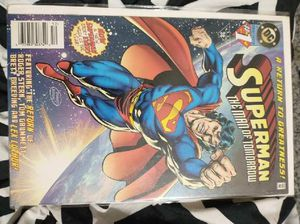 Superman the man of tomorrow #1 for Sale in Wichita, KS