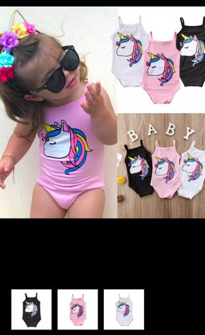 Kids Baby Girl Swimsuit Bikini Bathing Suit Sleeveless Cartoon Cute Swimsuit Swimwear Bathing Beachwear for Sale for sale  Hamilton Township, NJ