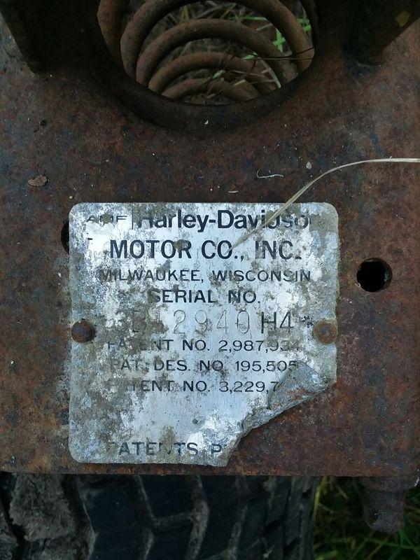 Harley Davidson golf cart 1974 gas