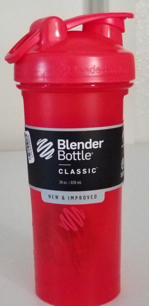 Red Blender Bottle Classic 28 oz. Shaker with Loop Top for Sale in Vacaville, CA