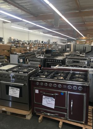 Warehouse full. Discounted appliances. Viking Dcs. Fisher & Paykel. Ge. Kitchenaid. Thor. Fagor.Sole gourmet for Sale in Los Angeles, CA