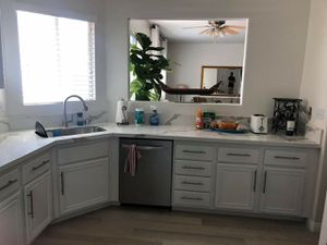 Give your existing cabinets a high-end designer look with a professional refinish! for Sale in San Diego, CA