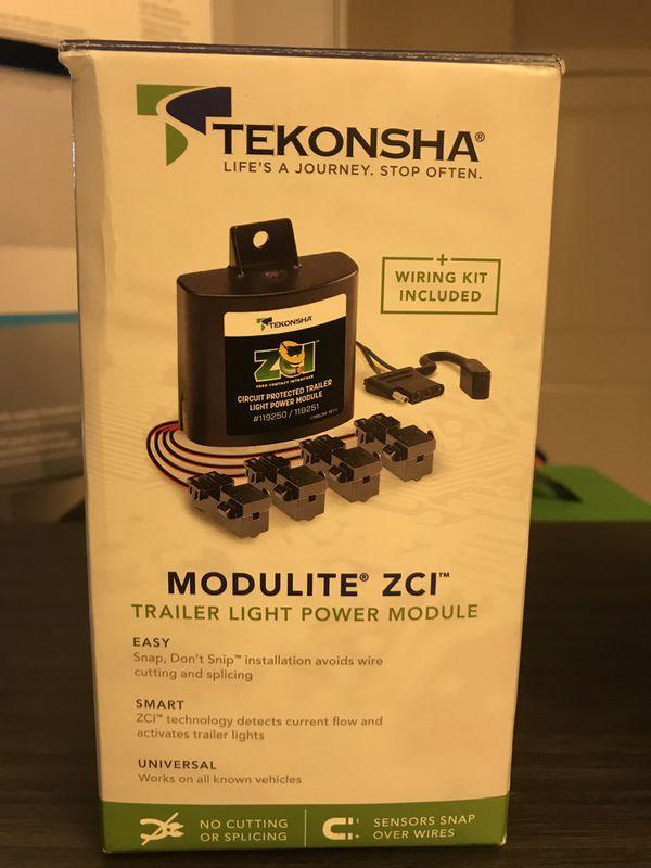 Tekonsha Modulite ZCL trailer light power module - NO SPLICING WIRE REQUIRES