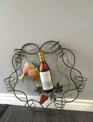 Decoration Wine Metal Wall Holder for Sale in West Covina, CA