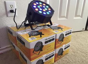 MULTICOLOR LED DMX PAR 56 $25 each for Sale in Dallas, TX
