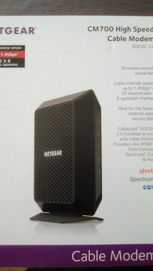 NETGEAR Cable Modem for Sale in Houston, TX