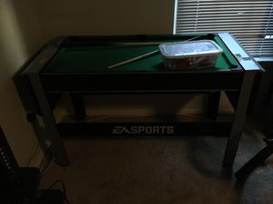 Pool table and Air hockey table with all equipment for Sale in Glenarden, MD