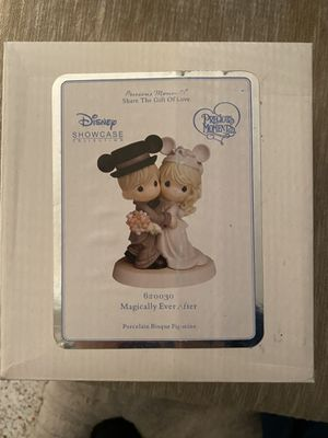 Disney Showcase Collection Precious Moments Magically Ever After Figurine for Sale in Seminole, FL