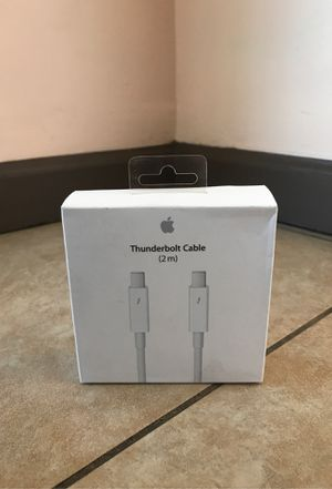 Apple thunderbolt cable for Sale in Covina, CA