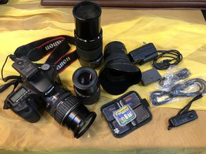 Canon EOS 50D Digital SLR Camera Kit w/ 4 Lenses (Lenses can be sold separately) for Sale in Winston-Salem, NC