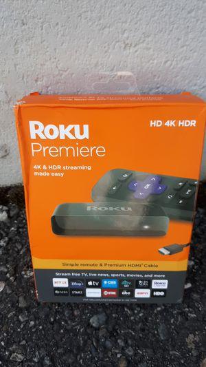 Roku Premiere 4k Streaming Device for Sale in Marysville, WA