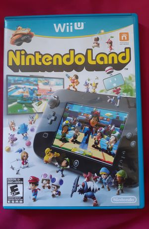 Wii U Nintendo Land for Sale in Columbus, OH