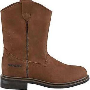 Men's size 9.5 leather brazo steel toe boots for Sale in La Vergne, TN