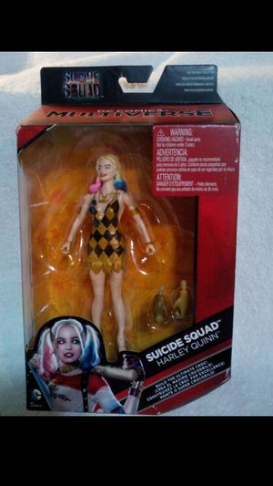 New in box Multiverse Harley Quinn action figure for Sale in Hemet, CA