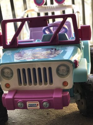 Jeep Wrangler frozen for Sale in Alexandria, VA