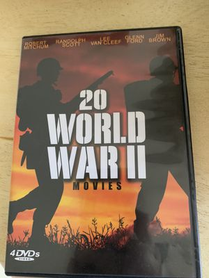 20 WWII Movies for Sale in Millbury, MA