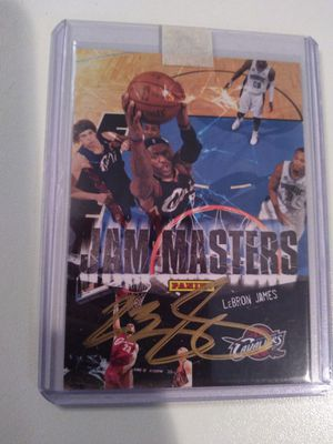 LeBron James autograph for Sale in Kenmore, WA