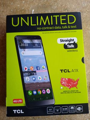 Straight talk TCL A1X for Sale in Mansfield, AR