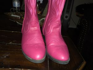 "Pink ""Justin""Cow Girl Boots for Sale in League City, TX"