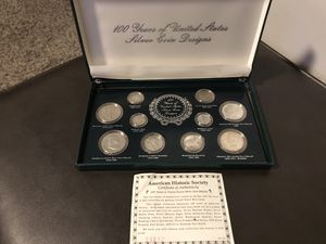 100 Years Of United States Silver Coin Designs for Sale in Midvale, UT