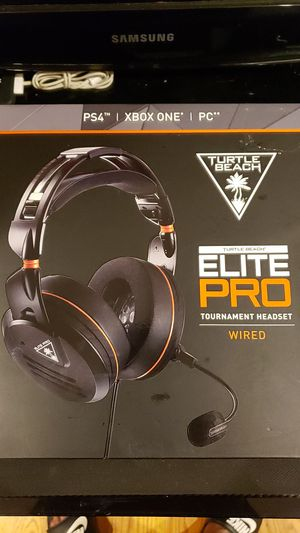 TURTLE BEACH ELITE PRO TOURNAMENT HEADSET for Sale in Brooklyn, NY