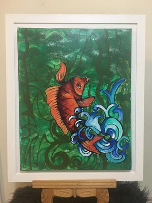 Ed Hardy painting Isabellar for Sale in San Diego, CA
