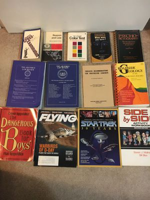 13 books various subjects for Sale in Las Vegas, NV