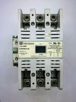 Cutler hammer 120 amp Contactor C25HNE3120A 3 pole for Sale in Perris, CA