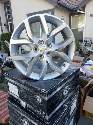 "2014 Chevrolet Impala Stock Rims Set of 4 ""LIKE BRAND NEW"" for Sale in Clovis, CA"