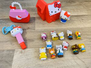 Hello Kitty toys and figurines for Sale in Raleigh, NC