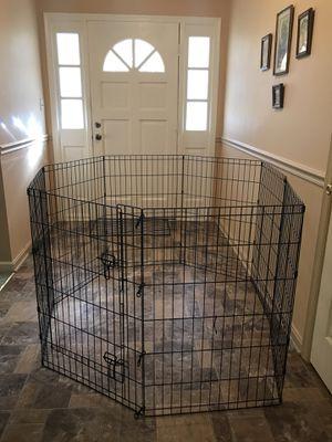 """36"""" tall pet play pen w step thru door for Sale in Manassas, VA"""