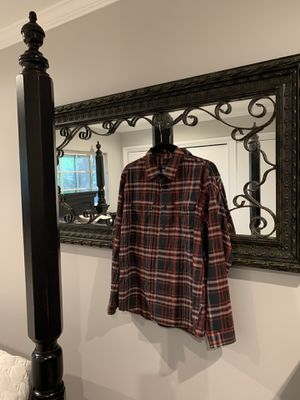 Men's Medium Patagonia plaid long sleeve for Sale in Downey, CA