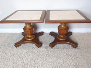 Mid Century Mersman 30-33 End Tables / Hostess Tables for Sale in Apopka, FL