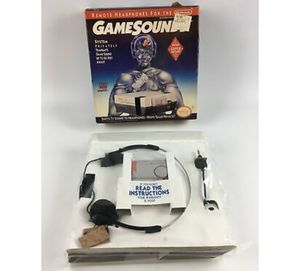 NOS GAMESOUNDS REMOTE HEADPHONES FOR NINTENDO FACTORY SEALED NIB for Sale in Beaver Falls, PA