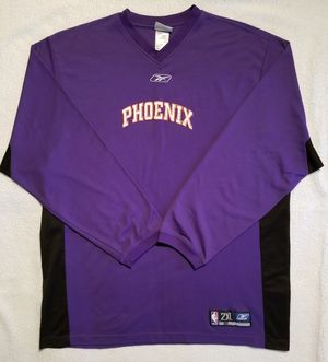 REEBOK PHOENIX SUNS WARMUP SHIRT, XXL for Sale in Scottsdale, AZ