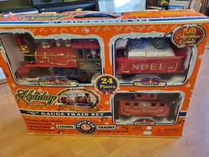 LIONEL TRAINS HOLIDAY TRAIN SET 2000 VINTAGE NEW for Sale in Las Vegas, NV