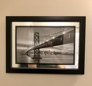 Framed Bridge Picture for Sale in St. Louis, MO