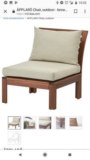 Outdoor Bench with Cushions Included for Sale in Brooklyn, NY